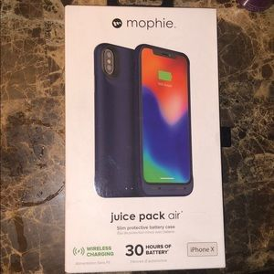 Mophie IPhone X battery case